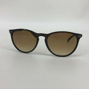 Foster Grant Sunglasses Thin Round Cat Eye Brown